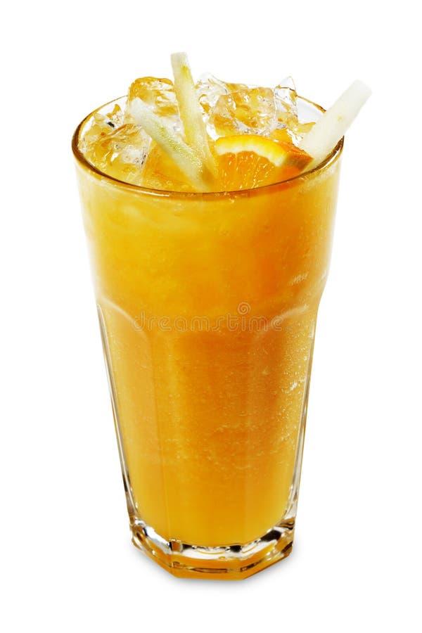 Smoothie - naranja fotografía de archivo