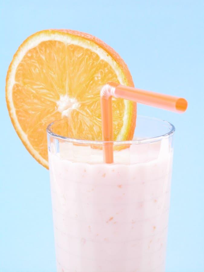 Smoothie orange image libre de droits