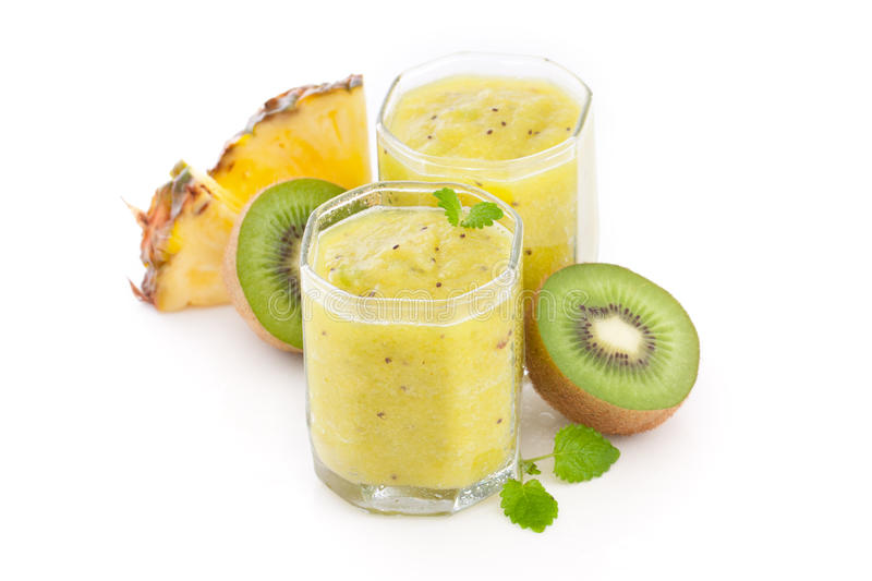 Smoothie tropicale immagine stock