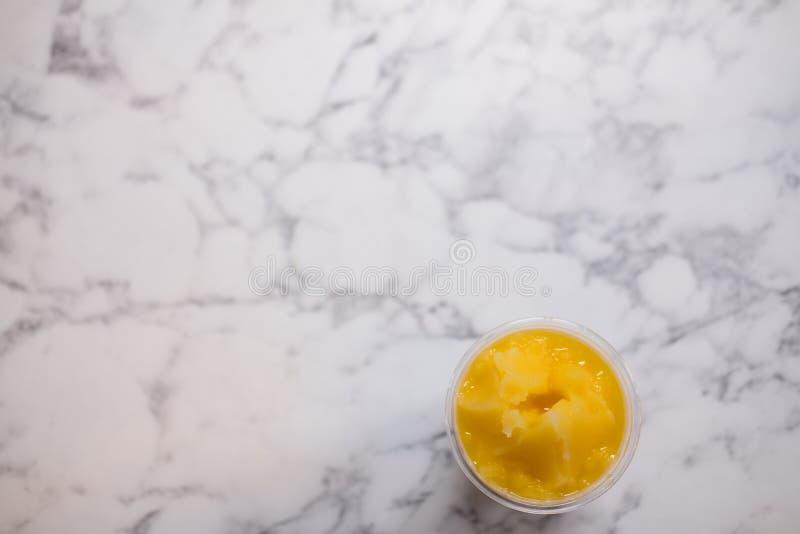 Smoothiejus d'orange royalty-vrije stock afbeelding