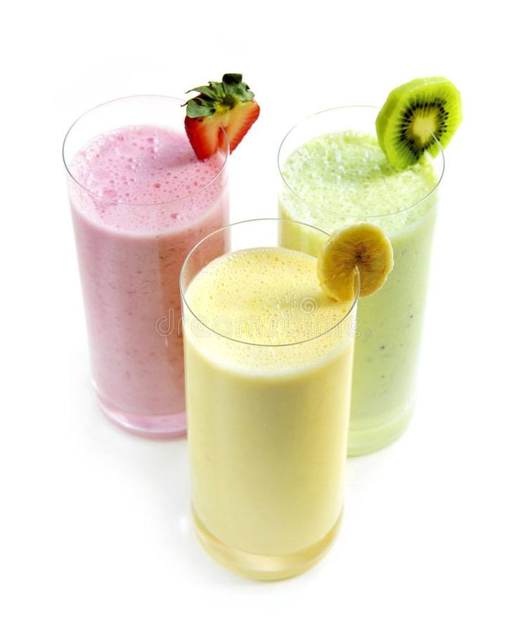 smoothies плодоовощ стоковые фото