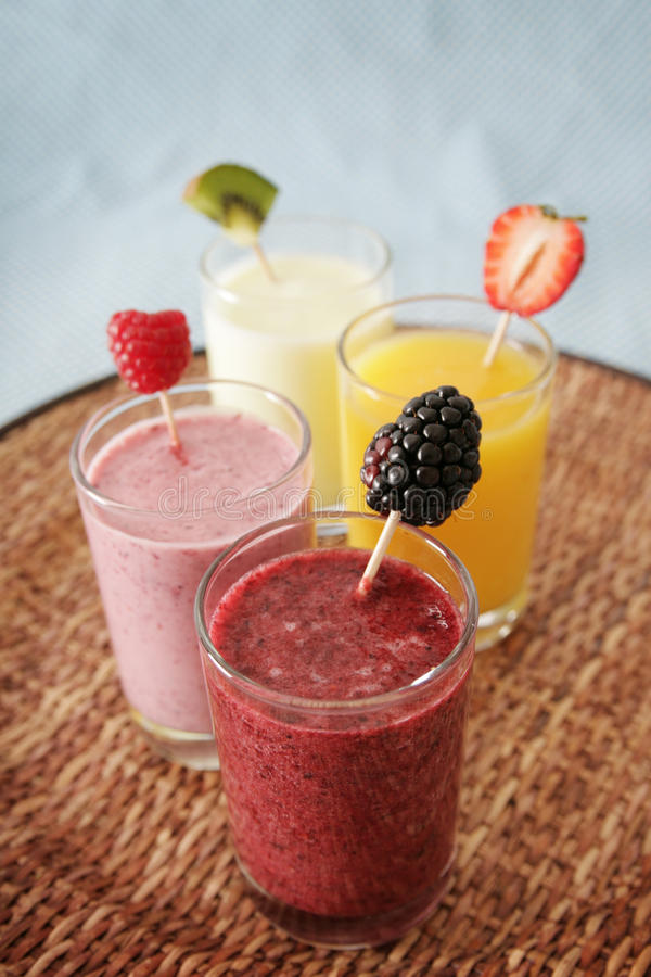 Smoothies royalty free stock image