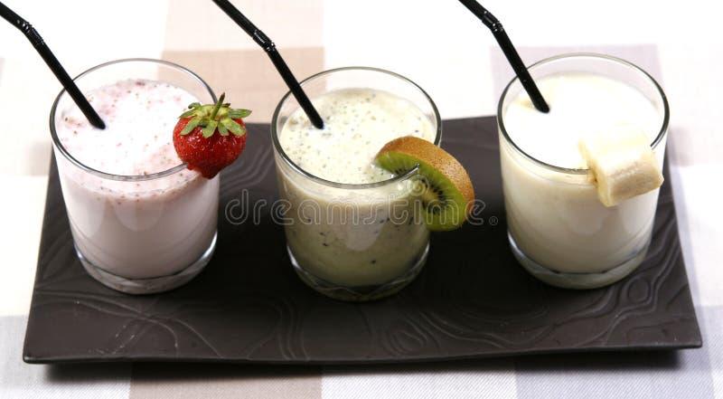 smoothies royaltyfri fotografi
