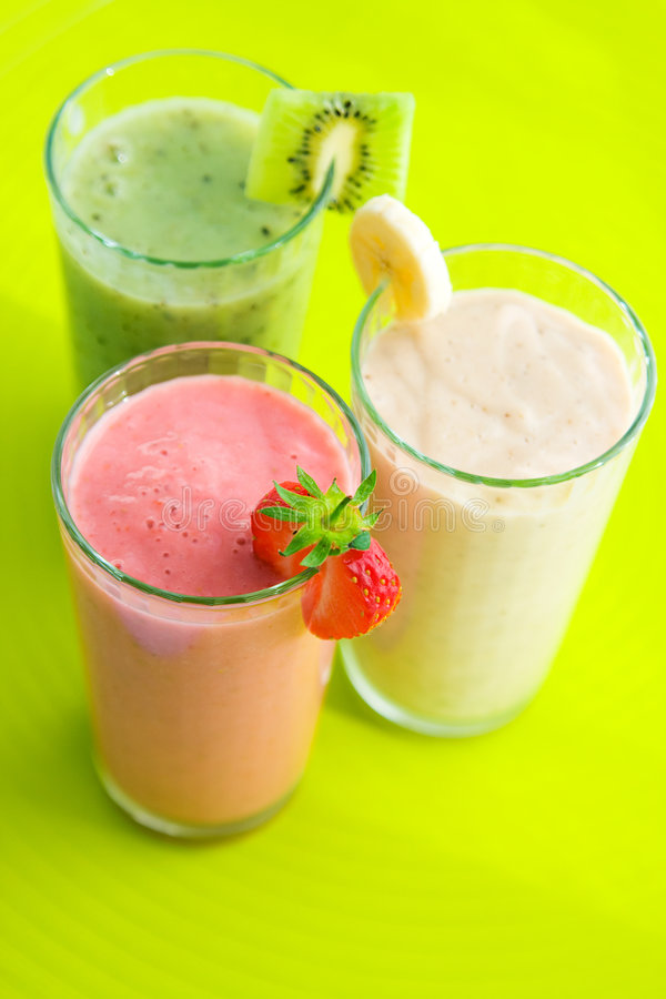 Smoothies imagem de stock royalty free