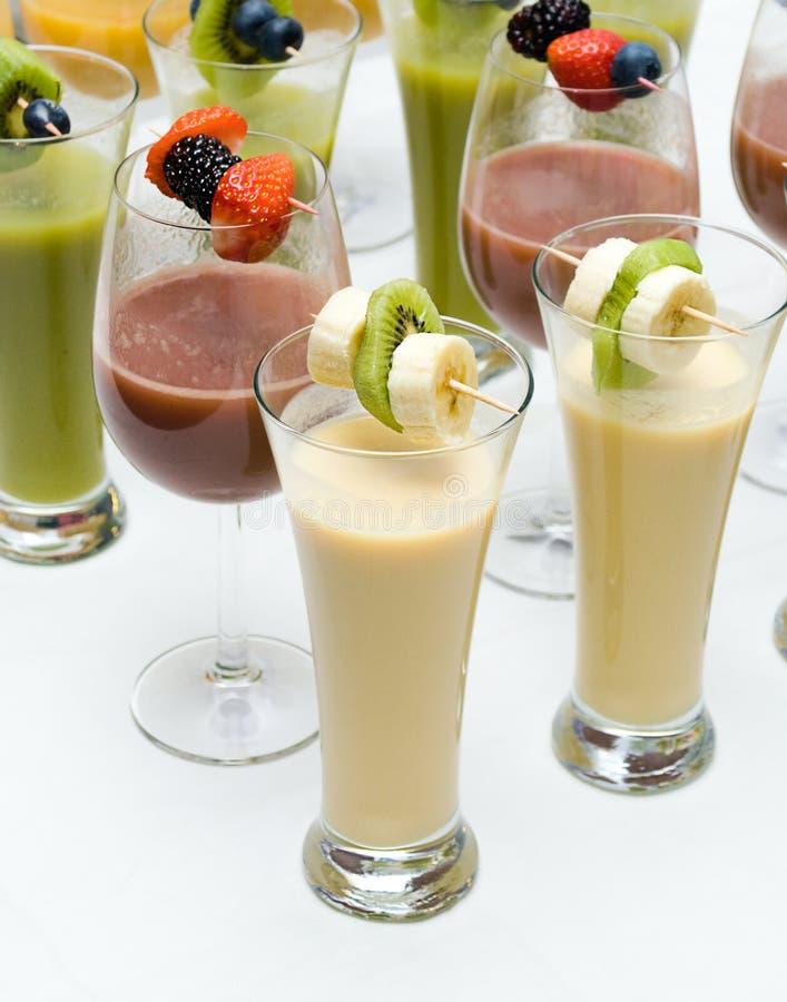 Smoothies de fruit. photos stock