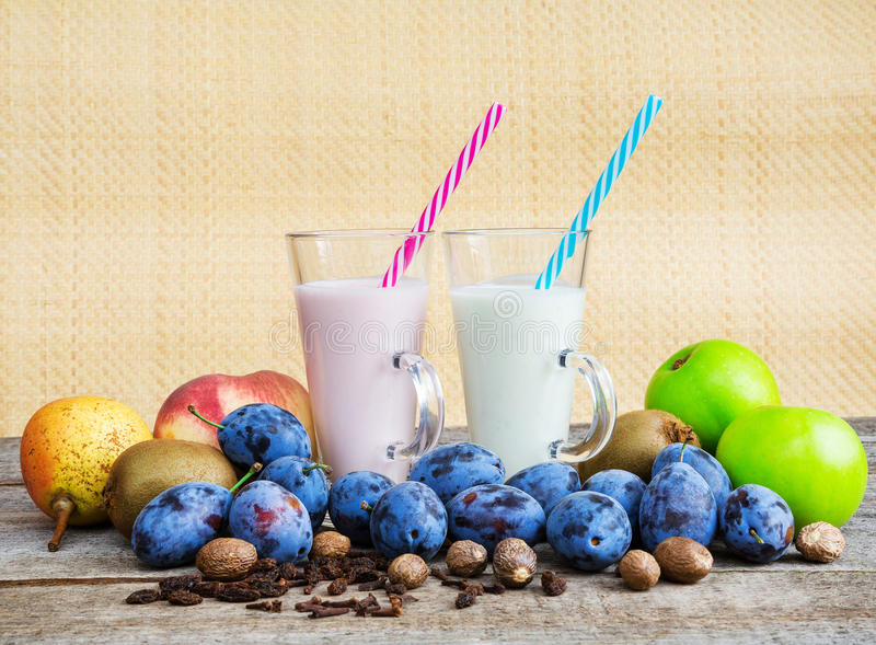 Smoothies, healthy eating stock photos