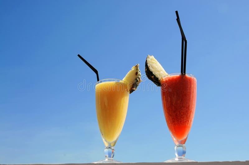 smoothies owocowe zdjęcie stock