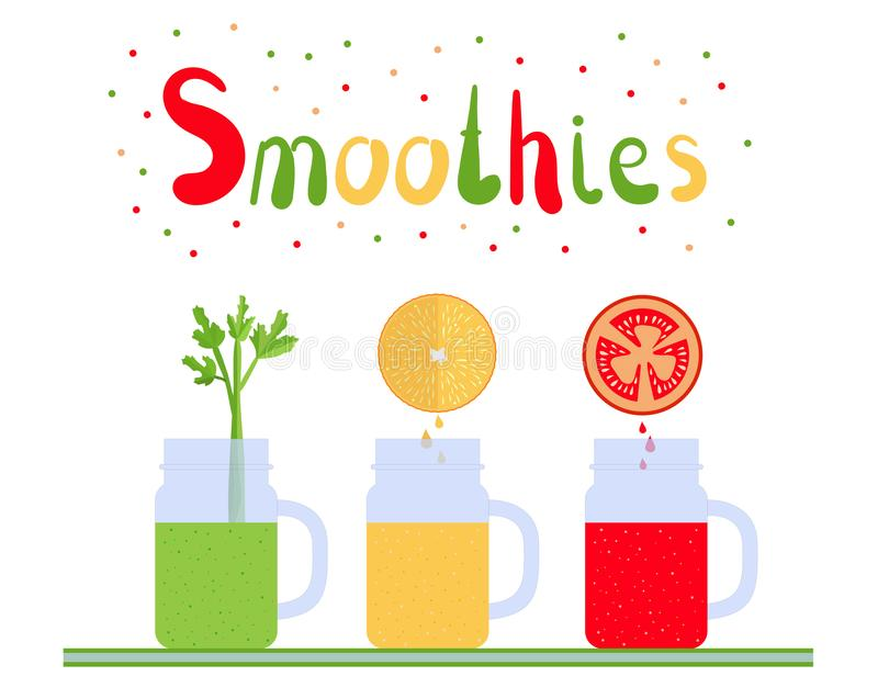 Smoothies 1 illustration stock