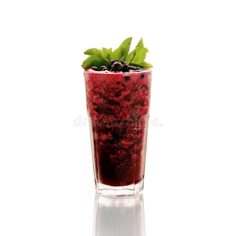 Smoothies z cranberry zdjęcie stock