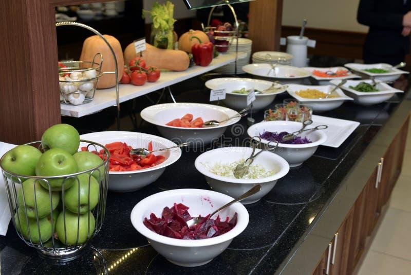 Smorgasbord - Lebensmittelwahl stockbilder