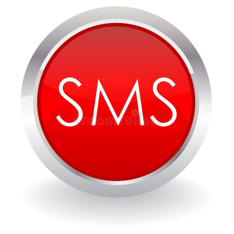 sms кнопки иллюстрация вектора