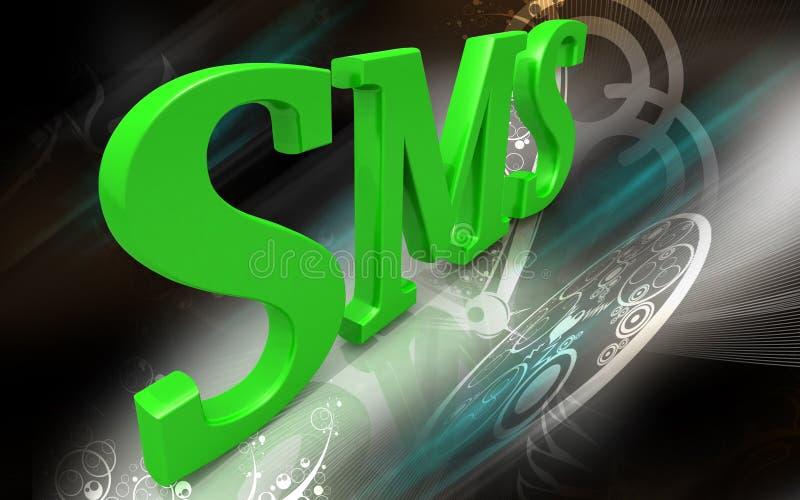 sms διανυσματική απεικόνιση