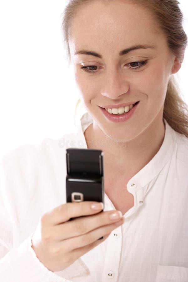 SMS fotografía de archivo
