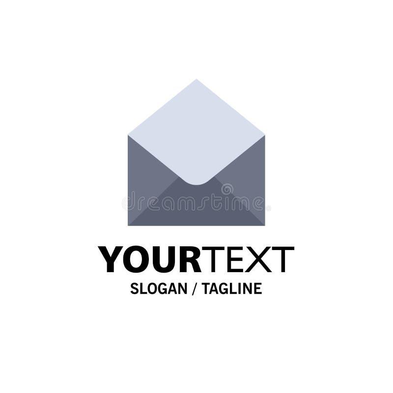 SMS, correo electrónico, correo, negocio Logo Template del mensaje color plano libre illustration