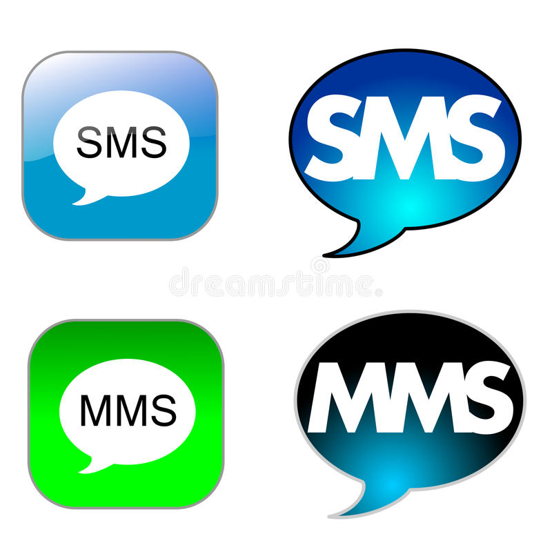 SMS icon vector illustration