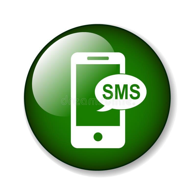 Free Sms Icon Button Royalty Free Stock Photos - 124306878