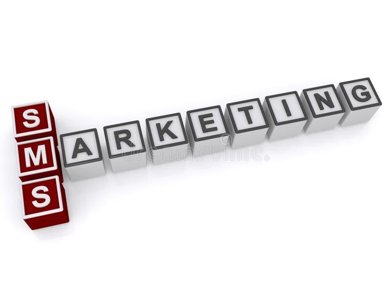 SMS Marketing vector illustration