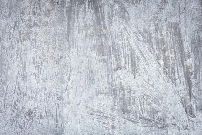 A smudged metal plate. As a background royalty free stock image