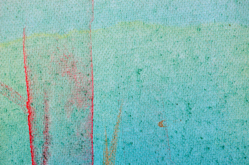 Smudged paint. Colors on canvas background. Abstract painting royalty free stock images