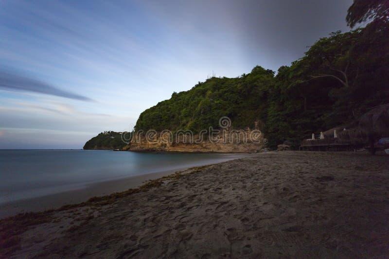 Smuggler's Cove beach royalty free stock photo