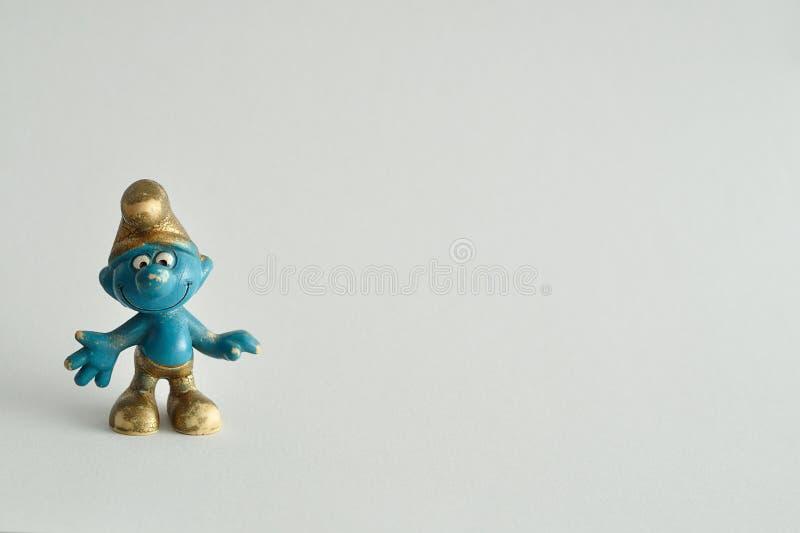smurf imagen de archivo libre de regalías