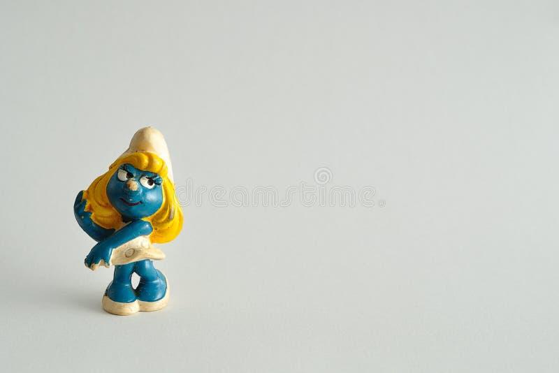 smurf imagen de archivo