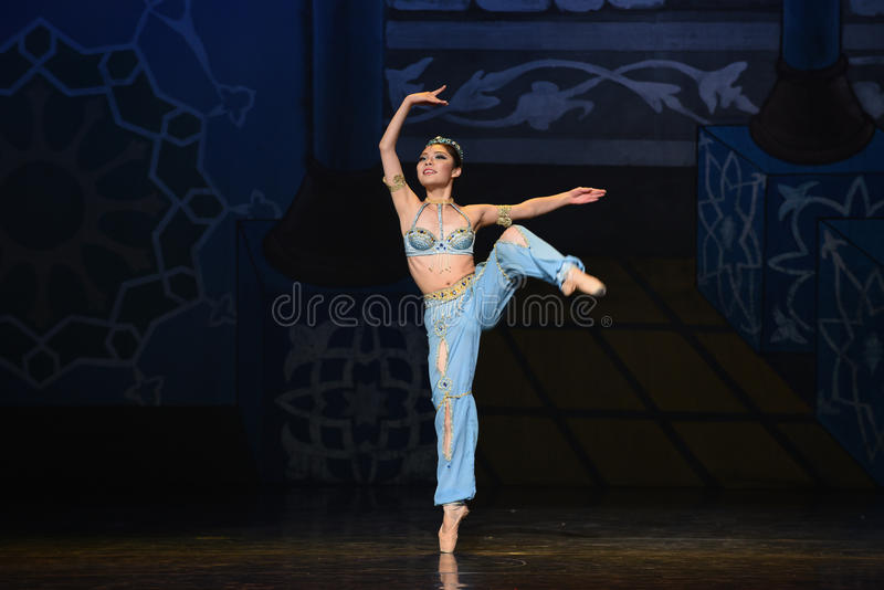 "Smurf- ballet ""One Thousand and One Nights"" stock photography"