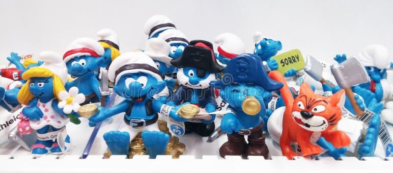 Smurfs stock foto