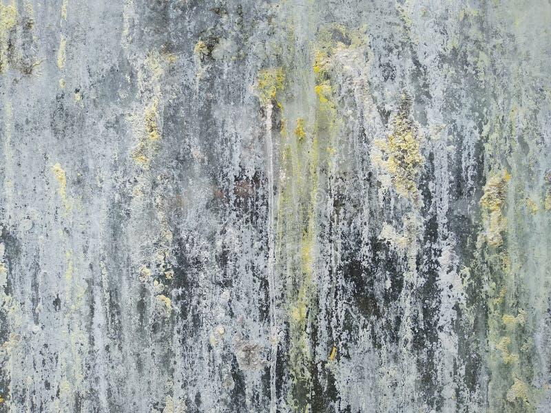 Smussatura in grigio di sfondo astratto con le vernici a goccia fotografie stock