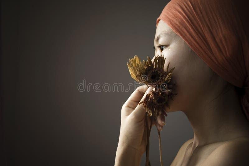 smutek. zdjęcie royalty free