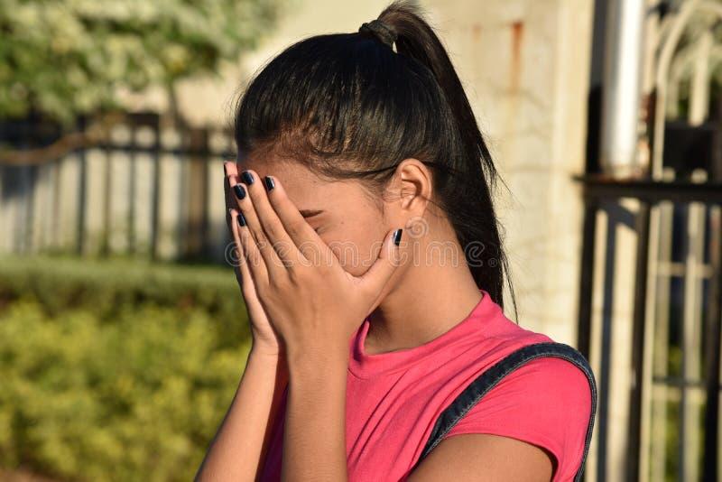Smutna młodzież obrazy stock