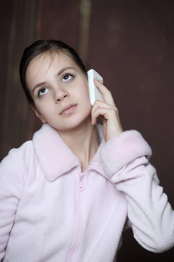 Smutna nastoletnia dziewczyna zdjęcia royalty free