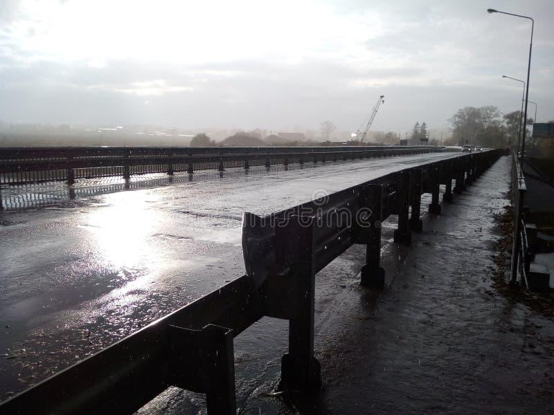 Smutny most zdjęcie royalty free
