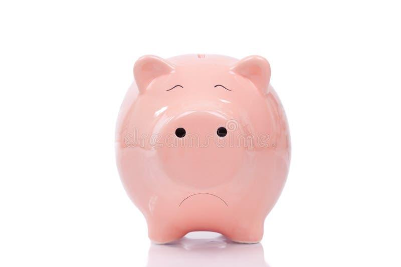 Download Smutny Prosiątko Bank Fotografia Stock - Obraz: 30416402