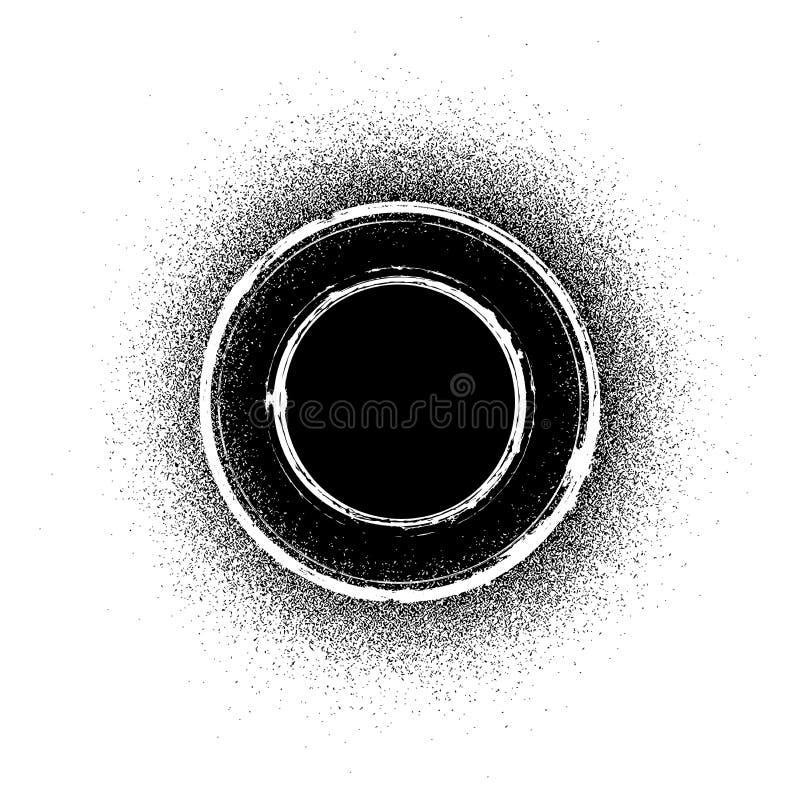 Smutsa ner stämpeln stock illustrationer
