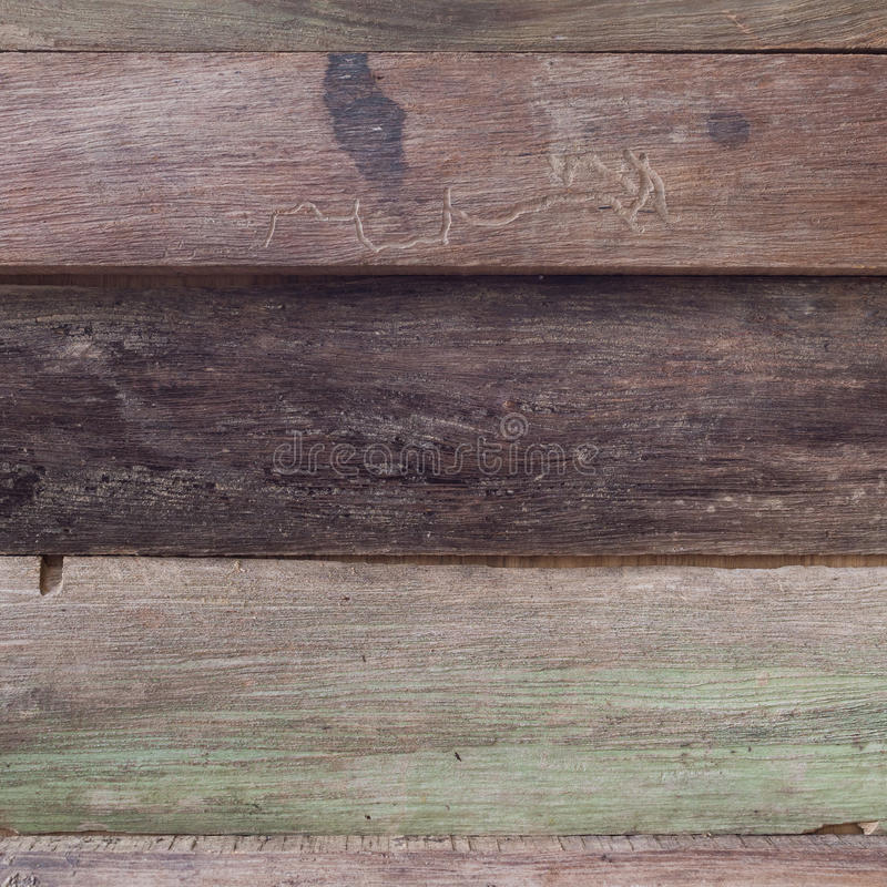 Smutsig brun wood ladugårdplankatextur arkivbilder