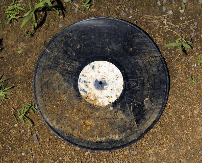 smutsig gammal vinyl för album royaltyfri fotografi