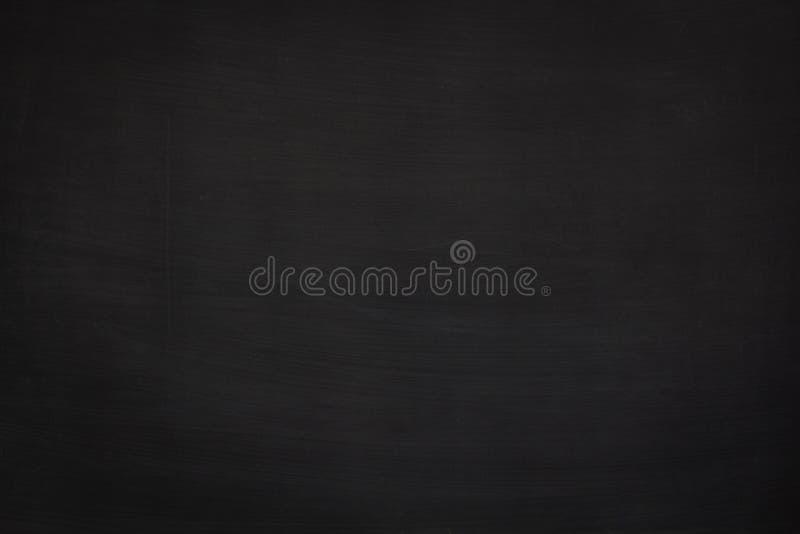 Smutsig textur för svart grunge med copyspace Abstrakt krita gned ut på svart tavla- eller svart tavlabakgrund Tapet med tomt arkivbilder