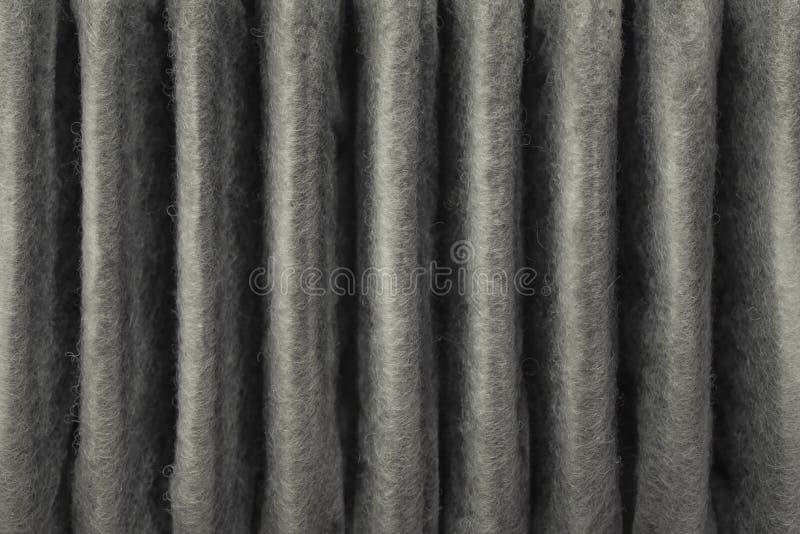 smutsigt filter för luft arkivfoto
