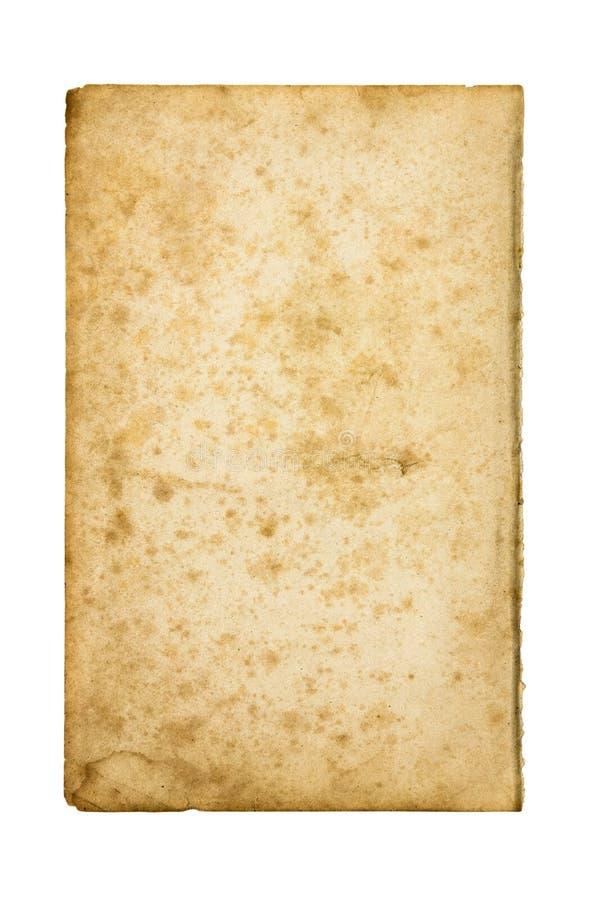 smutsigt gammalt paper ark royaltyfria foton