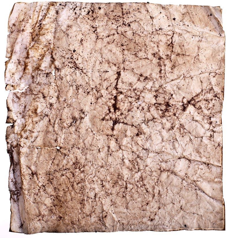 smutsigt gammalt papper mycket royaltyfria bilder