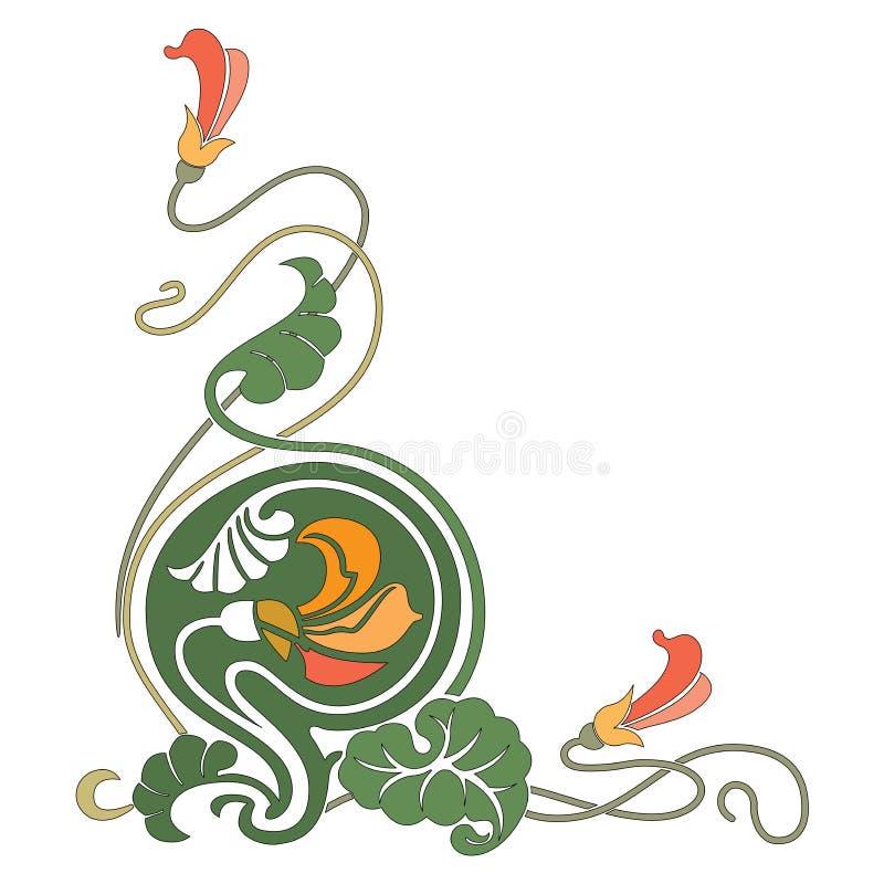 Smyckar den dekorativa f?rgrika v?rlden f?r den abstrakta orientaliska mosaiken grafiskt stock illustrationer