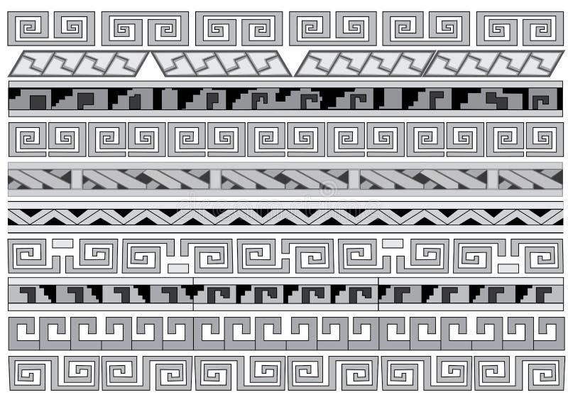 smyckar seamless royaltyfri illustrationer