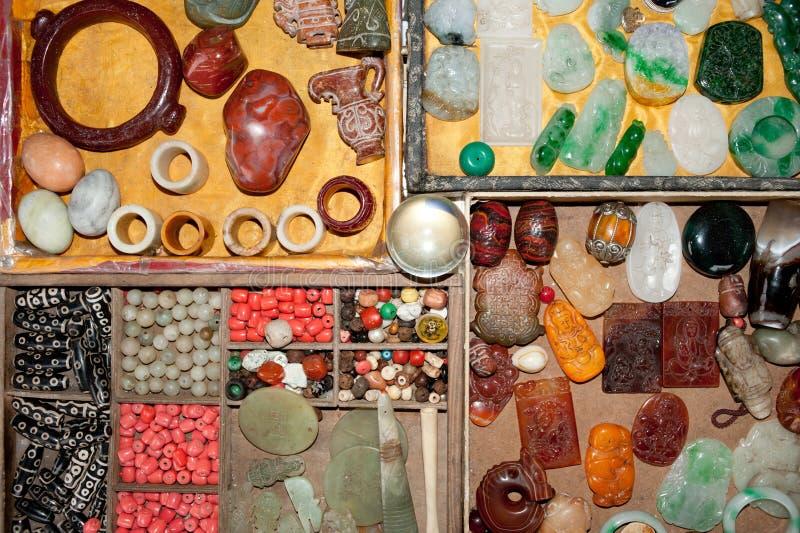 Smycken jade arkivbild