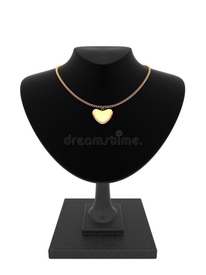 Smycken som göras av guld arkivfoton