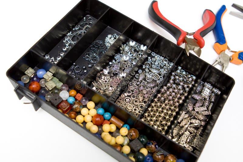 smyckenframställning royaltyfri foto