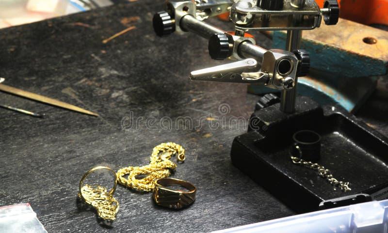 Smyckenhantverk royaltyfri bild