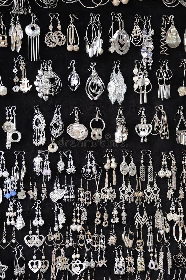 smyckensilver royaltyfria bilder
