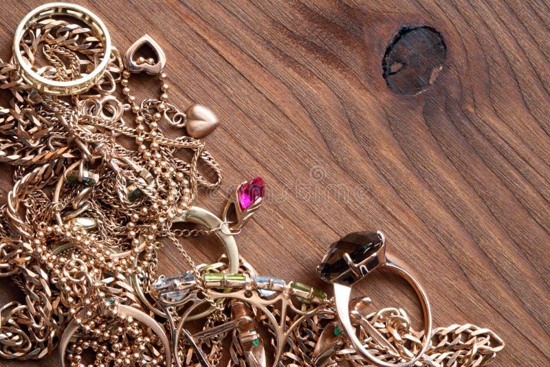 smyckenträ arkivfoto