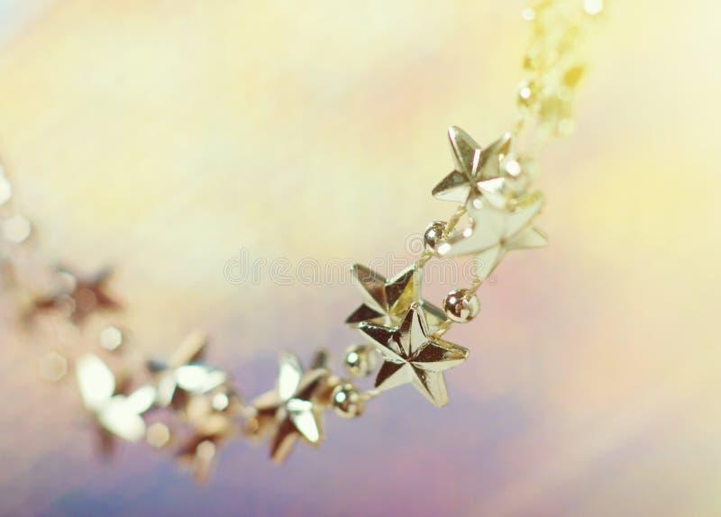 Smyckning-stjärnor fotografering för bildbyråer